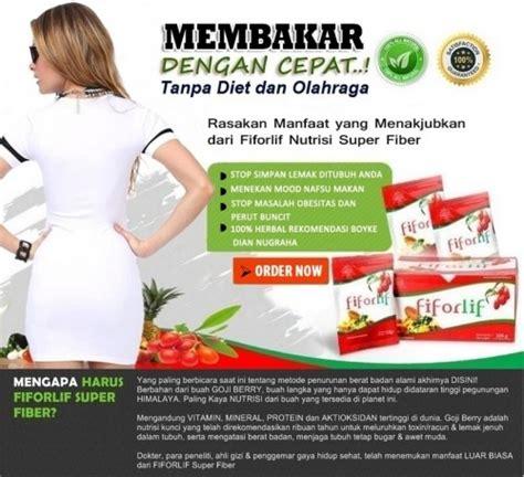 Fiforlif Fiber Untuk Detox Slimming Dan Diet fiforlif solusi langsing detox diet 100 aman tanpa efek sing