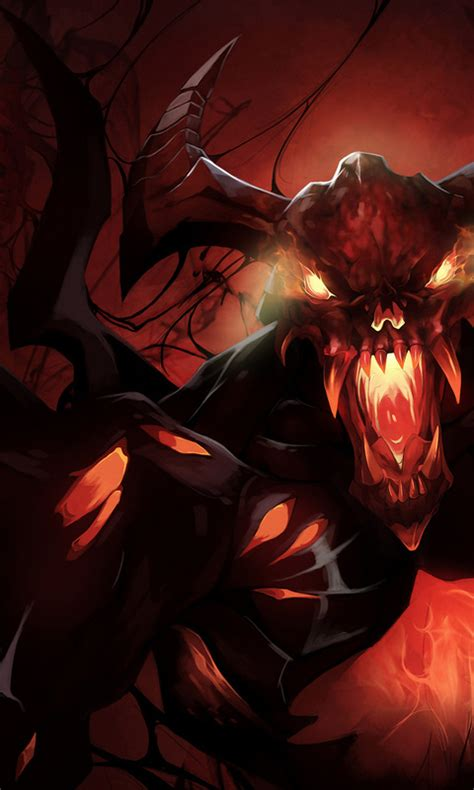 live wallpaper dota 2 free download free shadow fiend dota 2 wallpapers apk download for