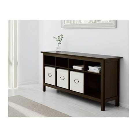 hemnes sofa table black brown 114 best images about hemnes on stains