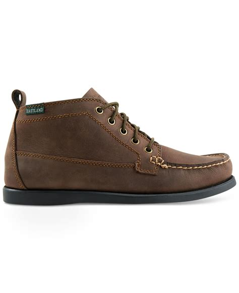 eastland shoes eastland shoe eastland seneca boots in brown for