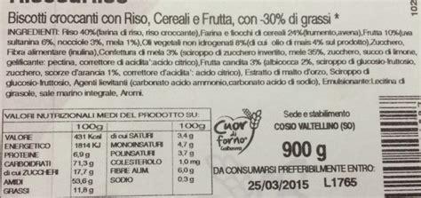 etichetta alimenti etichette degli alimenti come si e leggono gli alimenti