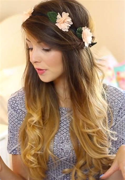 easy hairstyles zoella ombre hair zoella zoella s makeup in her how to my