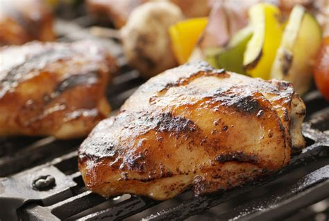 how to grill chicken thighs real simple