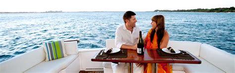dinner on a boat romantic boat dinner