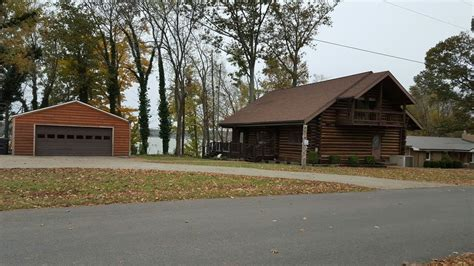 Lake Barkley Cabins For Rent by Easy Access Log Cabin On Lake Barkley On Vrbo