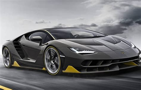 World S Fastest Lamborghini 2017 Lamborghini Centenario One Of Fastest Car In The