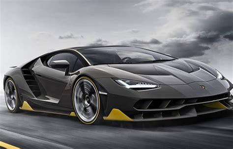 Fastest Lamborghini 2017 Lamborghini Centenario One Of Fastest Car In The