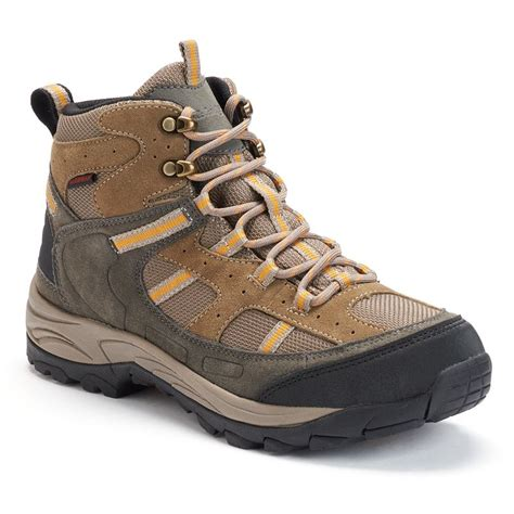 eddie bauer hiking shoes eddie bauer brown toby waterproof hiking from kohl s