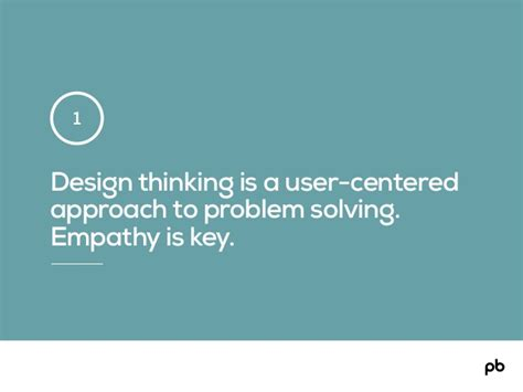 design thinking approach design thinking is a user centered
