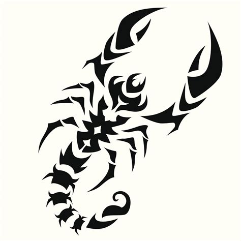 tribal scorpion tattoo designs majestic tribal scorpion tattoos that will make heads turn