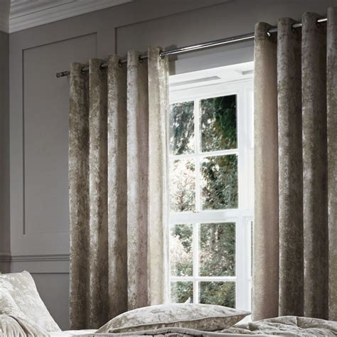 lined velvet curtains pair of luxury crushed velvet lined window curtains with