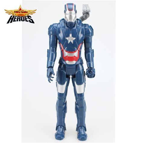 Figure Iron Heroes Marvel dc marvel iron patriot iron 3 pvc figure collectible wotc