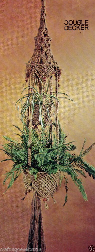 Macrame Patterns For Hanging Plants - 416 best images about macrame on