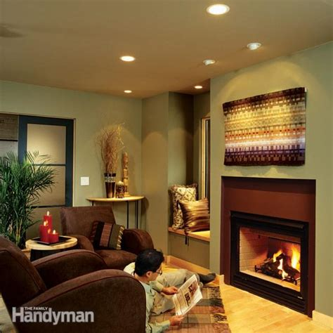 where to place recessed lights in living room installing recessed lighting for dramatic effect family handyman