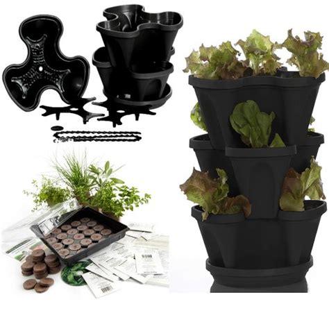 indoor herb garden planters garden stacker planter indoor culinary herb garden kit
