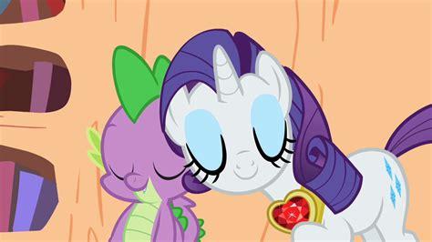 rarity my little pony friendship is magic wiki fandom image rarity spike awwww s2e10 png my little pony