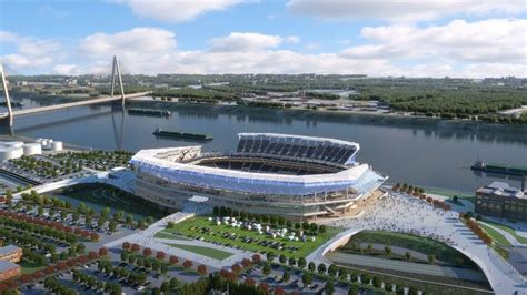 st louis newspaper rams proposed st louis rams riverfront stadium news