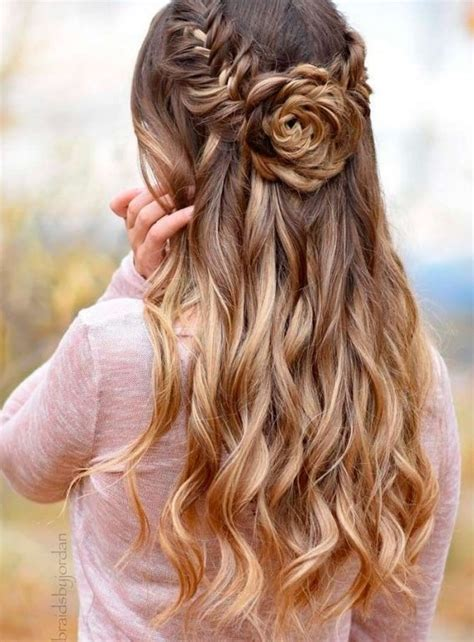 best homecoming hairstyles long hair 30 best prom hair ideas 2018 prom hairstyles for long