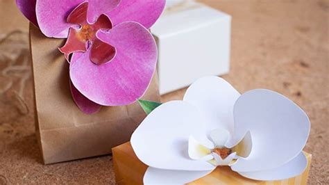 printable paper orchid paper orchid printable template things to make pinterest