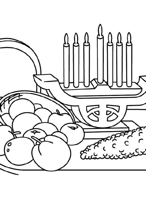 kwanzaa coloring book pages a kwanzaa feast coloring page crayola com