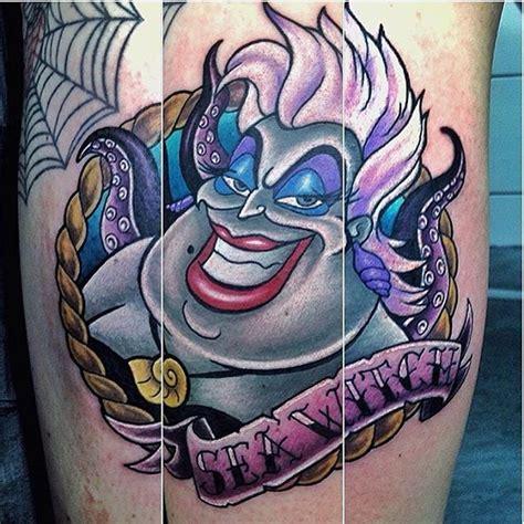 cartoon witch tattoo 161 best disney tattoos images on pinterest tattoo