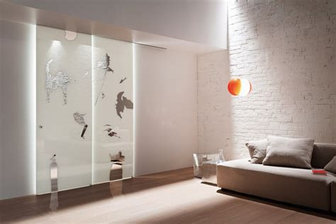 movi porte foto porta scorrevole in vetro decorata di rossella