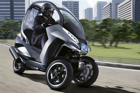 Motorrad Kfz by Peugeot Hybrid Motorcycle Car 118 To The Gallon