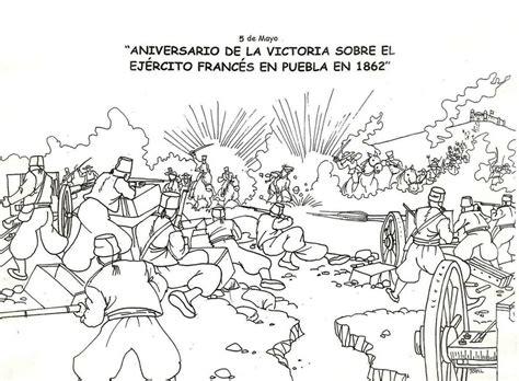 imagenes del 5 de mayo para colorear imprimible sobre la batalla de puebla dibujo jpg by