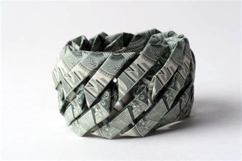Money Bracelet Origami - money bracelet origami dollar bill origami