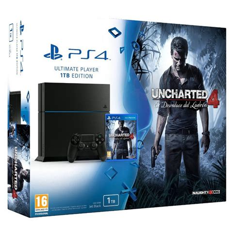 Ps4 Uncharted 4 Limited Tanpa sony ps4 playstation 4 1tb uncharted 4 el desenlace ladr 243 n pccomponentes