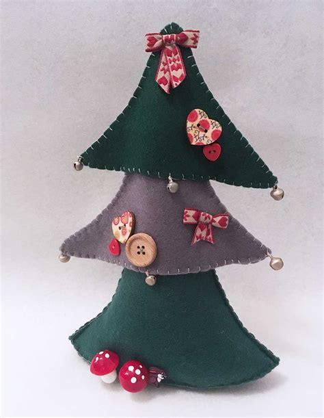 christmas tree pattern to sew christmas tree sewing pattern christmas decore