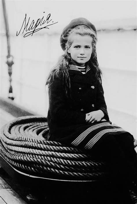 grand duchess maria nikolaevna    russia aboard  polar star