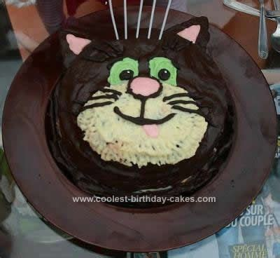 cat cakes  cats homemade  cake images