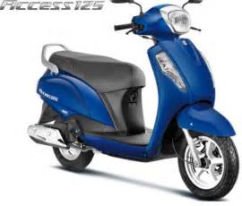 Price Of Suzuki Access Suzuki Access 125 2016 Launched In India At Rs 53887