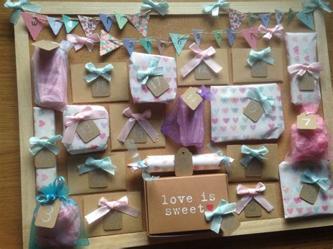 Wedding Advent Calendar I Made This For  Ee  Best Ee    Ee  Friend Ee   To