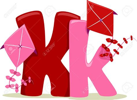 Letter K Drawing by Letter K Clipart 101 Clip