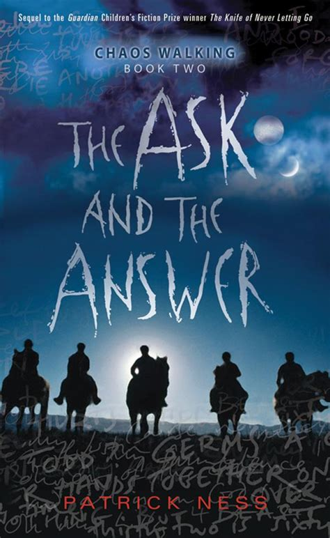 walking books junior library guild the ask and the answer chaos