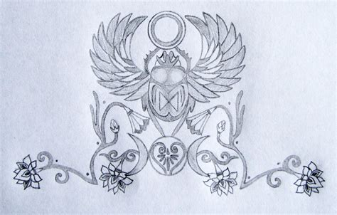 sacred scarab goddess tattoo design tania marie s blog