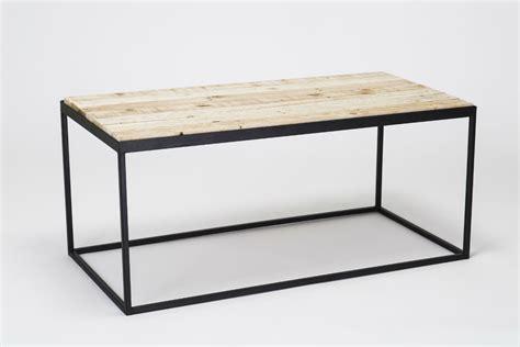 diy pallet coffee table with flat steel legs pallet