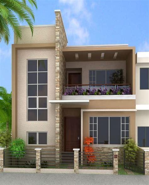 House Plans 1 Story fachadas para casas de 6 metros frente planos de casa