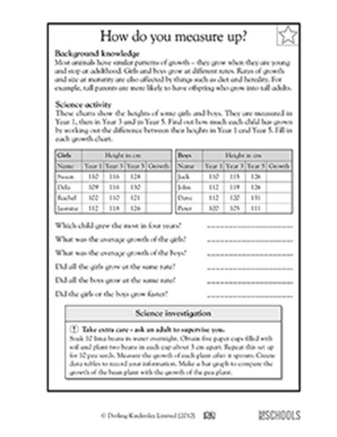 Cooking Measurements Worksheet Answers 5th Grade Science Worksheets How Do You Measure Up