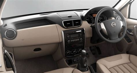 Nissan Terrano India Interior by Nissan Terrano To A Sub Inr 10 Lakhs Price Tag