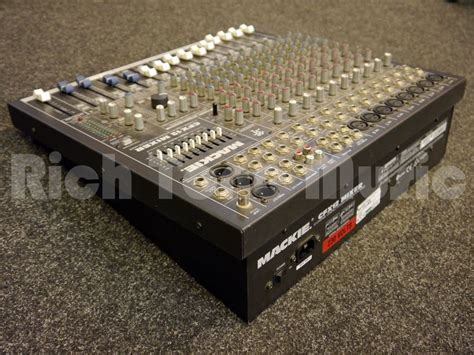 Mixer Mackie Second mackie cfx12 mixing desk 2nd rich tone