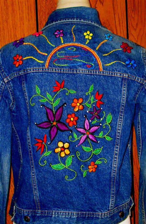 hand embroidery  denim ideas craft community