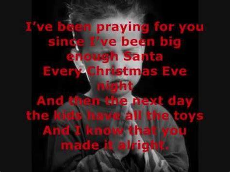 billys christmas  red sovine  lyrics    boxes  tissues
