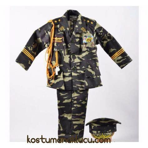 Baju Tentara Anak kostum baju profesi anak tentara kostum anak lucu