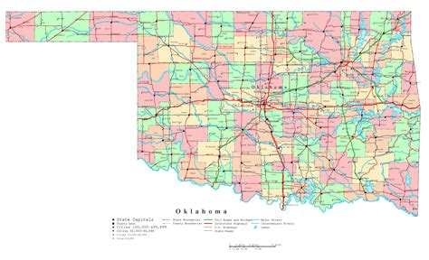 map of usa with city detail usa map with oklahoma wall hd 2018