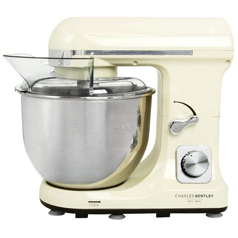 bentley cream charles bentley 1000w cream food stand mixer 5l bowl
