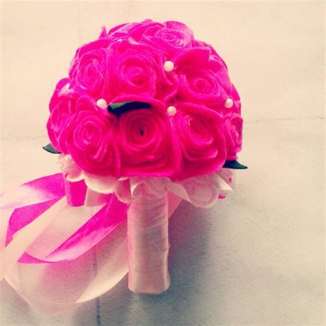 tutorial membuat buket bunga mawar flanel mainan anak dari flanel mainan oliv