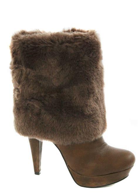 fur boots desirable faux fur boots s fur ankle boots